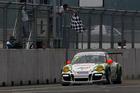 Earl Bamber races in the Porsche Carrera Cup.