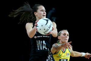 Courtney Tairi of the Silver Ferns. Photo / Getty Images