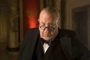 Ian McNeice as Winston Churchill in 'Doctor Who'.