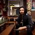 Colin enjoys a coffee at Black Coffee Lyrics, Surfers Paradise. Photo / Natalie Slade