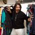 Colin checks out Australian fashion designer Charlie Brown at Marina Mirage designer shopping centre. Photo / Natalie Slade
