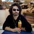 Colin Mathura-Jeffree. Colin enjoys a drink at Providore in the Marina Mirage designer shopping centre. Photo / Natalie Slade
