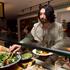 Colin enjoys dinner at Bazaar restaurant at the QT Gold Coast Hotel, Surfers Paradise. Photo / Natalie Slade