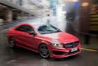 Mercedes-Benz wants to position the new CLA as an 'affordable' car. Photo/Ted Baghurst
