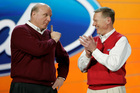 Microsoft is reportedly keen to replace Steve Ballmer (left), who is stepping down next year, with Ford's Alan Mulally. Picture / AP