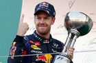 Sebastian Vettel  has won five races on the trot - including at Singapore and Japan. Photo / AP