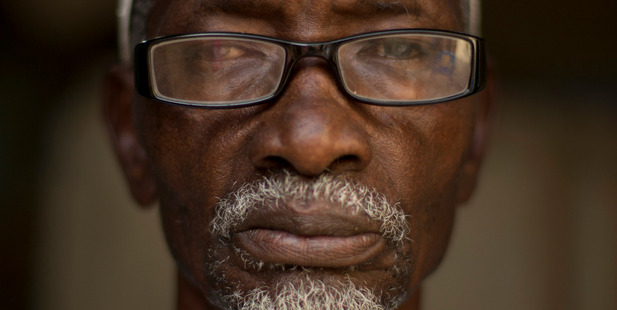 Amadou Mbaye, 74, from Senegal.Photo / AP
