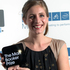 New Zealand author Eleanor Catton poses after being announced the winner of the Man Booker Prize for Fiction. Photo / AP