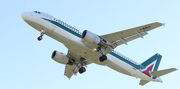 A rescue package worth nearly half a billion dollars has been approved for the struggling flagship airline Alitalia. Photo / AP
