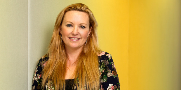 Lizzi Hines, managing director of office-design company Spaceworks. Photo / NZH