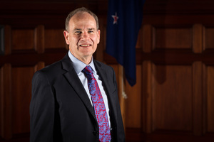 Auckland Mayor Len Brown. Photo / Michael Craig
