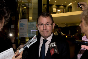 MP John Banks says he will fight the charges against him, but has stepped down as a Government Minister today. File photo / Brett Phibbs