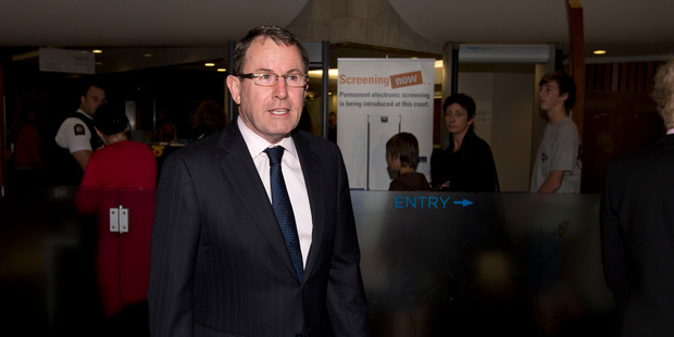 "John Banks says he will fight the charge. ""There are many more steps that we can take and a number of options that we can pursue."" Photo / Brett Phibbs"