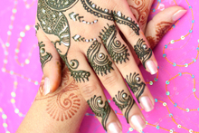 Henna done by Sangita Thakar.Photo / Kellie Blizard