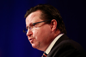 Nigel Morrison has been giving evidence at the private prosecution of John Banks. Photo / NZ Herald
