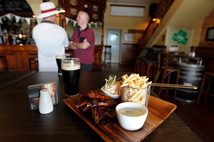 Have the craic and a good feed at the Clare Inn Irish pub on Dominion Rd, Auckland. Photo / Michael Craig