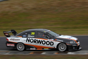 Mark Gibson was top at last year's Elite Motorsport Academy and is now driving a V8 Supercar. Picture  / Euan Cameron