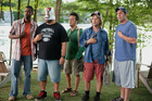 In Grown Ups 2 Kevin James, Chris Rock, David Spade and Adam Sandler display superb comic timing.