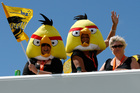 Rovio's killer app Angry Birds mobile-phone game keeps generating lucrative spin-offs. Photo / Bush Telegraph