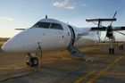 An Air New Zealand Bombardier Q300. Photo / Warren Buckland
