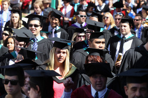 Students need to be clever about their choice of topics, say recruitment experts. Photo / APN