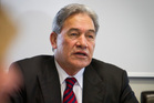 Winston Peters believes an early election is likely.  Photo / Glenn Taylor