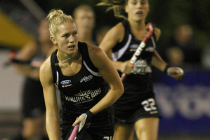 Stacey Michelsen of the New Zealand Black Sticks.