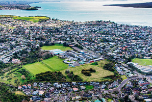 The 3.122ha greenfield site for sale at 223 Kohimarama Rd, Auckland.