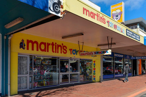After 20 years as a toy shop, the Eruera St, Rotorua  site awaits a new owner and a new use.
