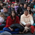 Manjot Dhillon and Harbans Kaur from Hastings enjoy the show. Photo / Duncan Brown