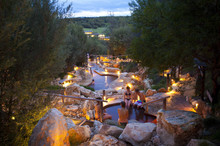 Enjoy Victoria's only thermal springs and healing waters.