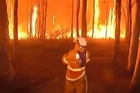 "Residents face scenes of devastation as bushfires ravage communities and destroy ""hundreds"" of homes in southeastern Australia, leaving one man dead with dozens of blazes still out of control."