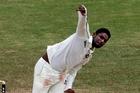 Bangladesh's Sohag Gazi enjoyed an amazing match. Photo / AP