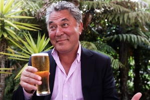 Radio presenter John Tamihere says he has strong views on alcohol abuse. Photo / APN