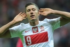 Poland's Robert Lewandowski's goal-scoring skill has sealed his status as one of Europe's leading forwards. Picture / AP