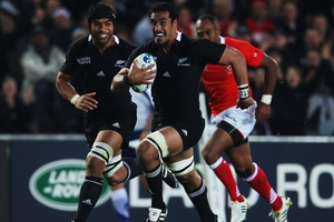 Jerome Kaino is a medium-term option to groom as a back-up No 8. Photo / Getty Images