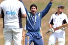The Bay of Plenty Indians travel to Tauranga this weekend in the Bay Cup. Pictured is Indians player Shonit Chandra appealing for a wicket at Smallbone Park. Photo / Ben Fraser