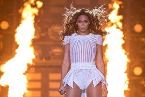 Beyonce on her 'Mrs Carter World Tour'. Photo / AP