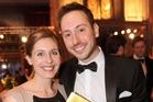 Eleanor Catton thanked her partner, Steve Toussaint,