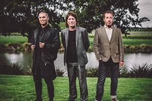 STARS: Performing at the Classic Hits Winery Tour when it visits Tutukaka next February are Stan Walker, Jordan Luck from The Exponents and Andy Lovegrove from Breaks Co-op.