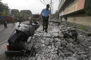 Many roads and bridges have been destroyed by the quake.