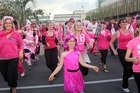A new decade, new look and new direction were celebrated in vibrant style at Tauranga's annual Pink Walk, with ballons, bubbly and Zumba.