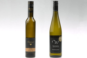 Seifried Winemakers Collection 'Sweet Agnes' Nelson Riesling and Waimea Nelson Gewurztraminer.
