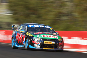 Mark Winterbottom drives the #5 Pepsi Max Crew FPR Ford during the Bathurst 1000. Photo / Getty Images