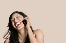 If you're doing long distance, talk on the phone, as much as you can.Photo / Thinkstock
