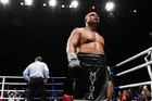 David Tua is training hard for his comeback fight against Russian giant Alexander Ustinov next month in Hamilton. Photo / File