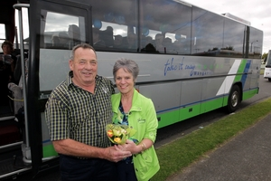 Twenty-five years on, Don and Marie Adams' tour company is thriving. PICTURE/STUART MUNRO 211013TOURS1