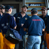 A group of Queensland volunteer firefighters, from Closeburn in the Samford Valley, prepare to depart to NSW in Brisbane. Photo / AAP