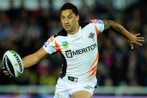 Benji Marshall's energy and skills offer him a variety of backline roles with the Blues. Photo / Getty Images