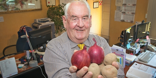 Ray Ellis, of Ellis Agricultural Services, ships potatoes primarily into Malaysia and the Philippines. Photo / Andrew Warner